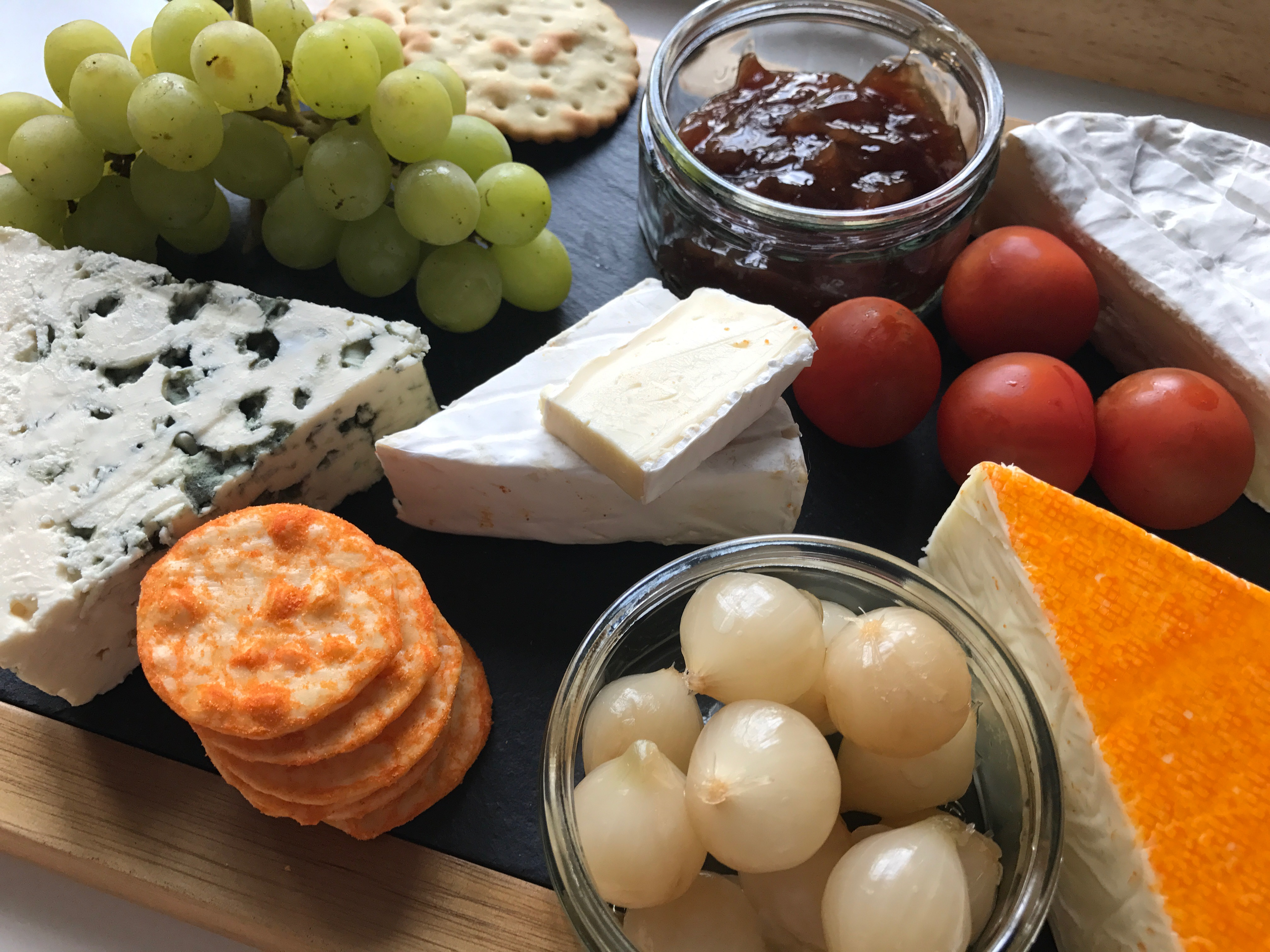 The perfect cheese board with Judge Slate