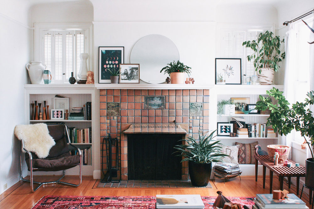 Home: Modern Comfort With A Little Victorian Era Style