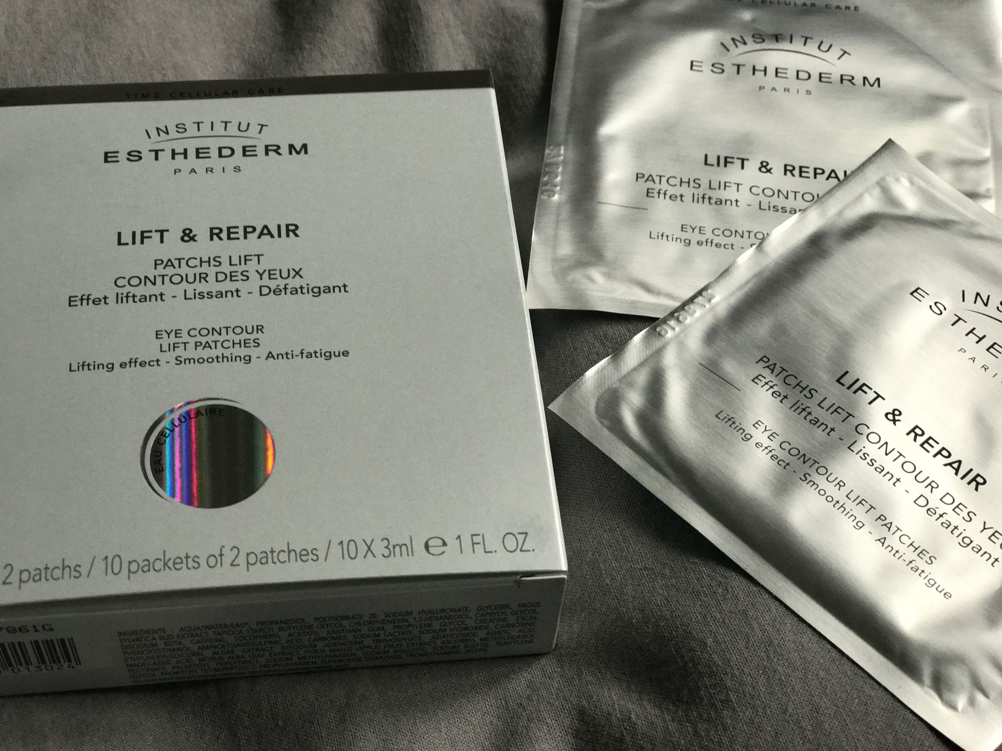 Beauty // Institut Esthederm Eye Contour Lift Patches- Review