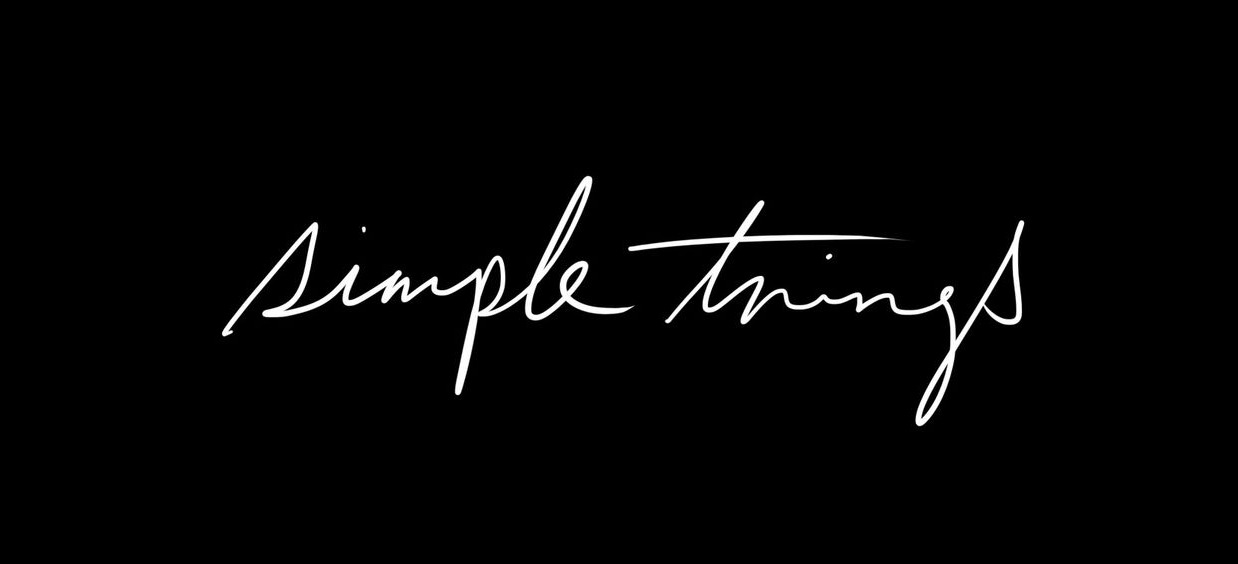 Simple Things Text