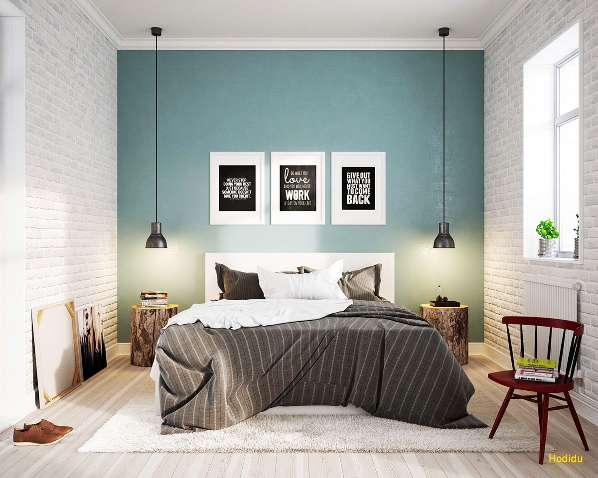 Make your house a hotel when you have guests life daily Industrial scandinavian bedroom