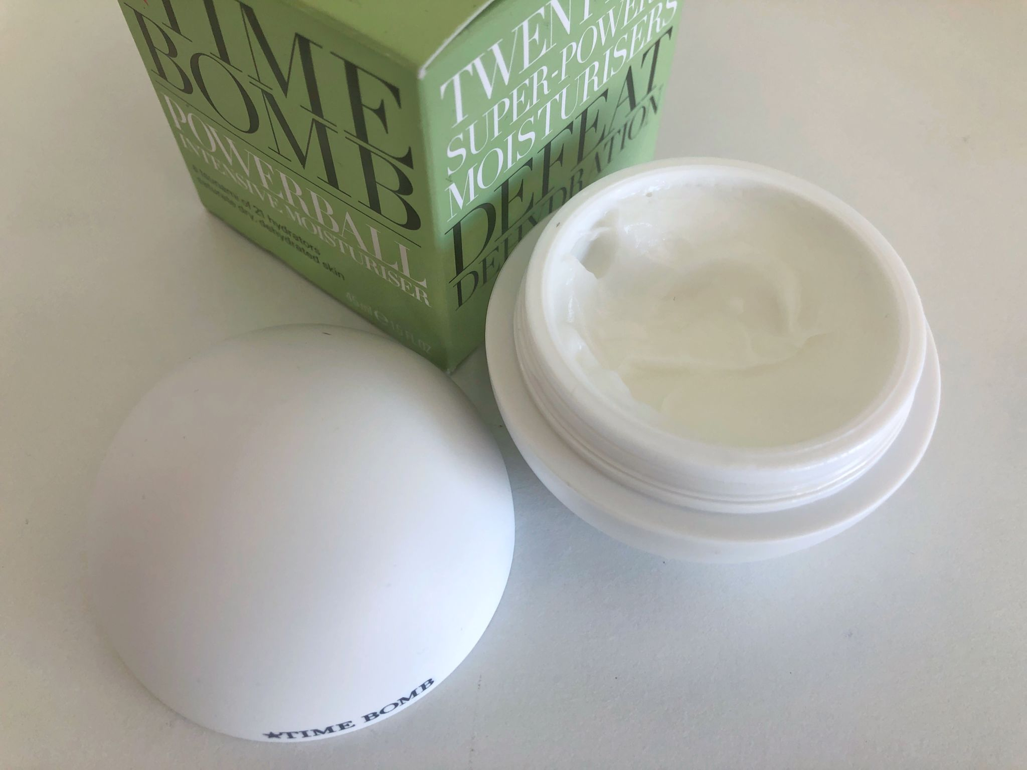 Time Bomb: Powerball Intensive Moisturiser Review