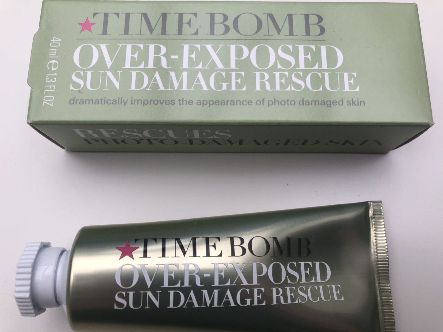 Time Bomb Over-Exposed Sun Damage Rescue
