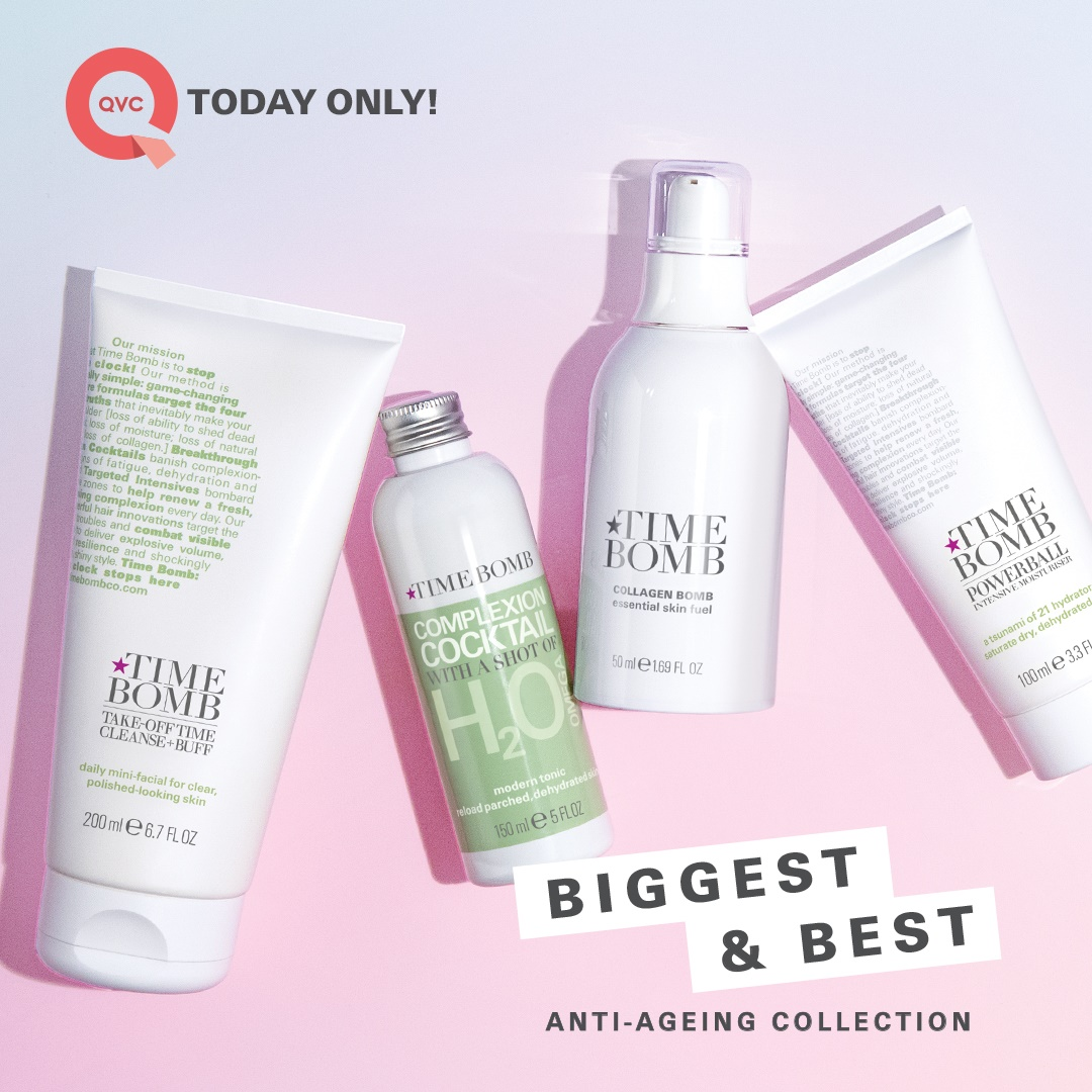 Time Bomb Supersize Hero Collection On QVC